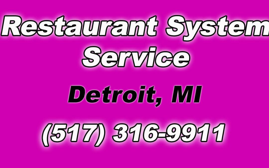Restaurant Fire Suppression System Service for Local Detroit MI Businesses
