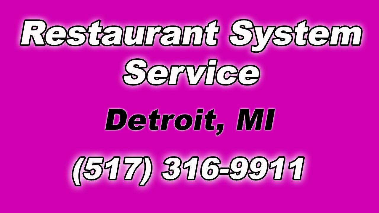 Restaurant Fire Suppression System Service for Local Detroit MI Businesses