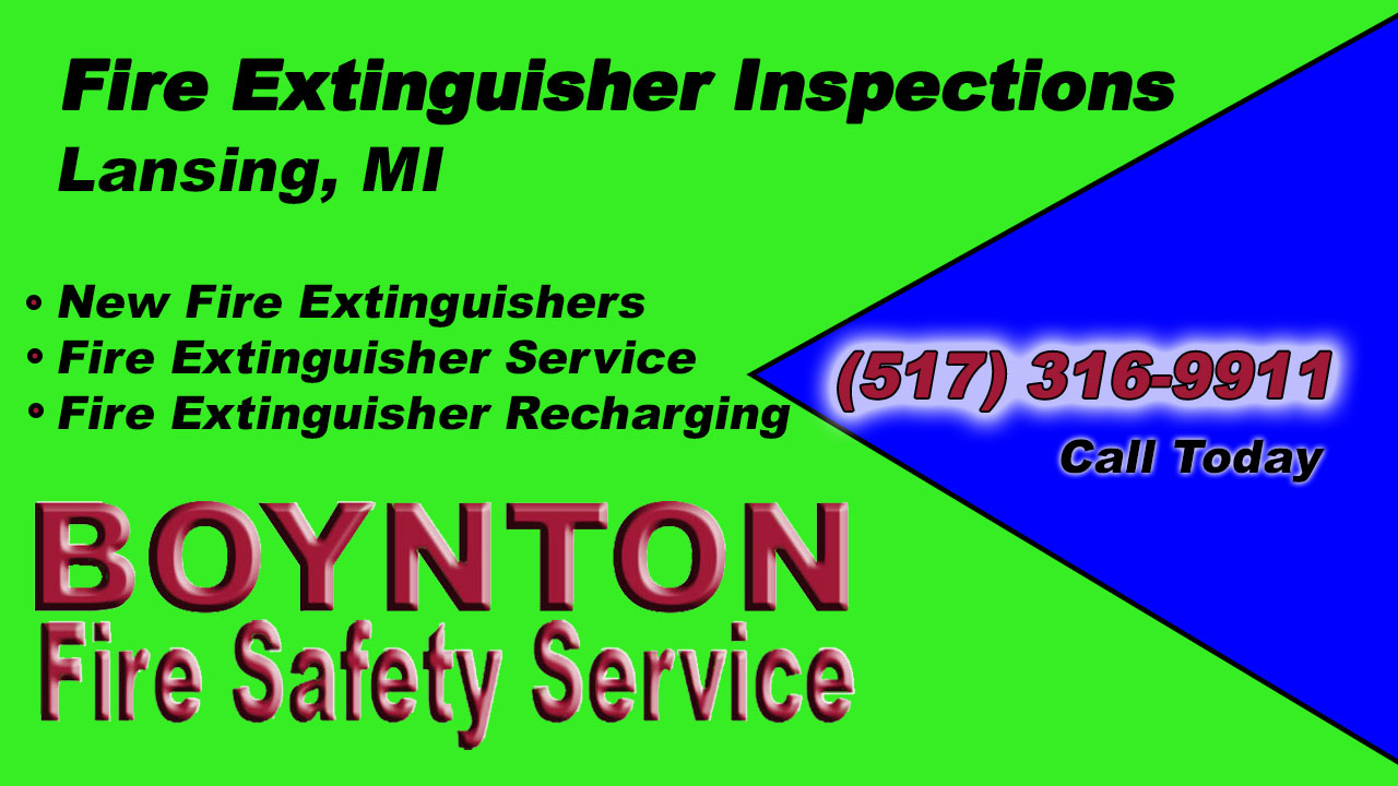 Fire Extinguisher Inspections Lansing MI