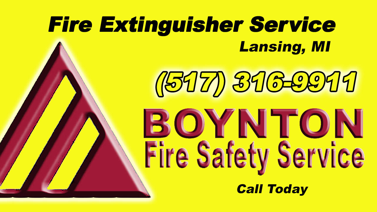 Fire Extinguisher Service Lansing MI